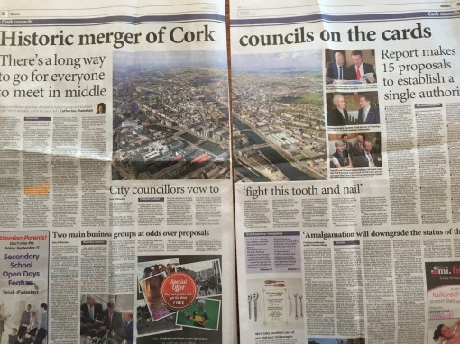 Irish Examiner Cork MErger