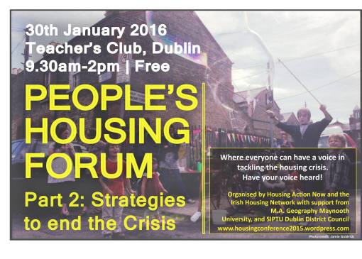 Peoples Housing Forum Part 2